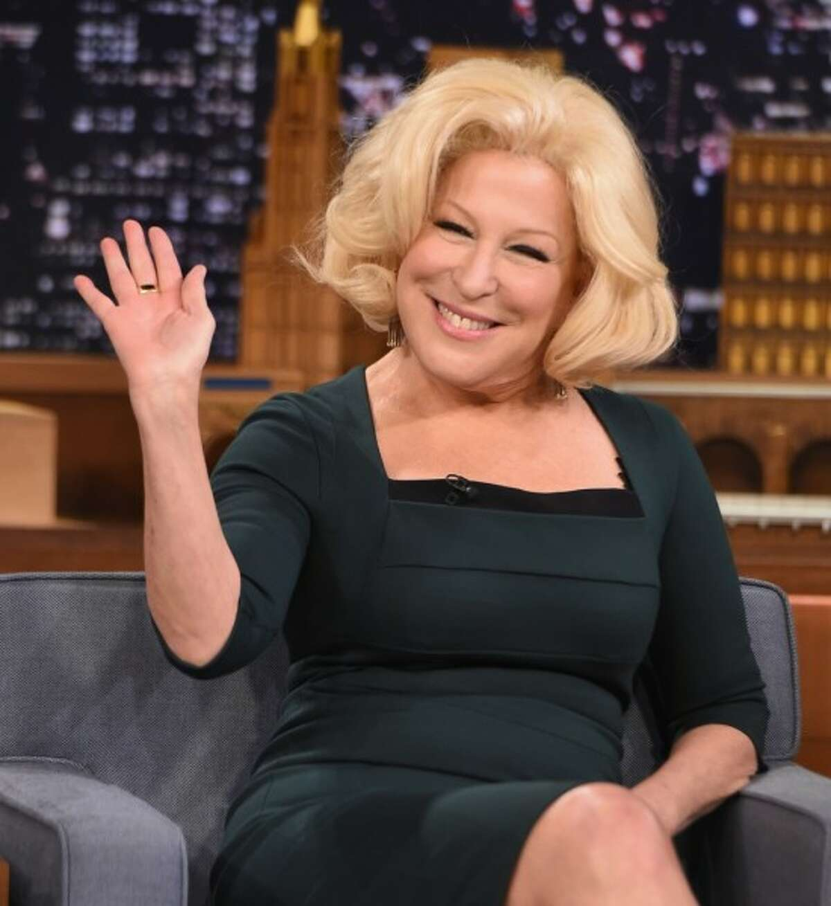 Bette Midler played the ringleader witch (and oldest sister) Winifred Sanderson.