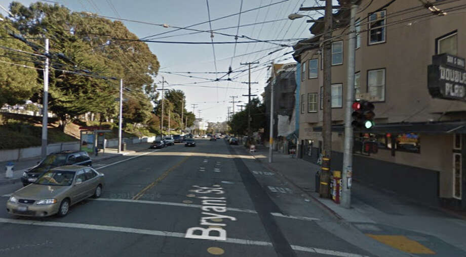 A woman was sexually assaulted early this morning on the 1700 block of Bryant Street. Photo: Google Maps