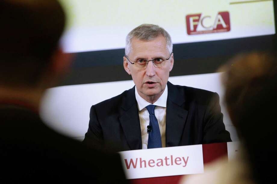 Martin Wheatley, CEO of Britain's Financial Con duct Authority speaks during a news conference. Photo: Matthew Lloyd / Bloomberg / © 2014 Bloomberg Finance LP.