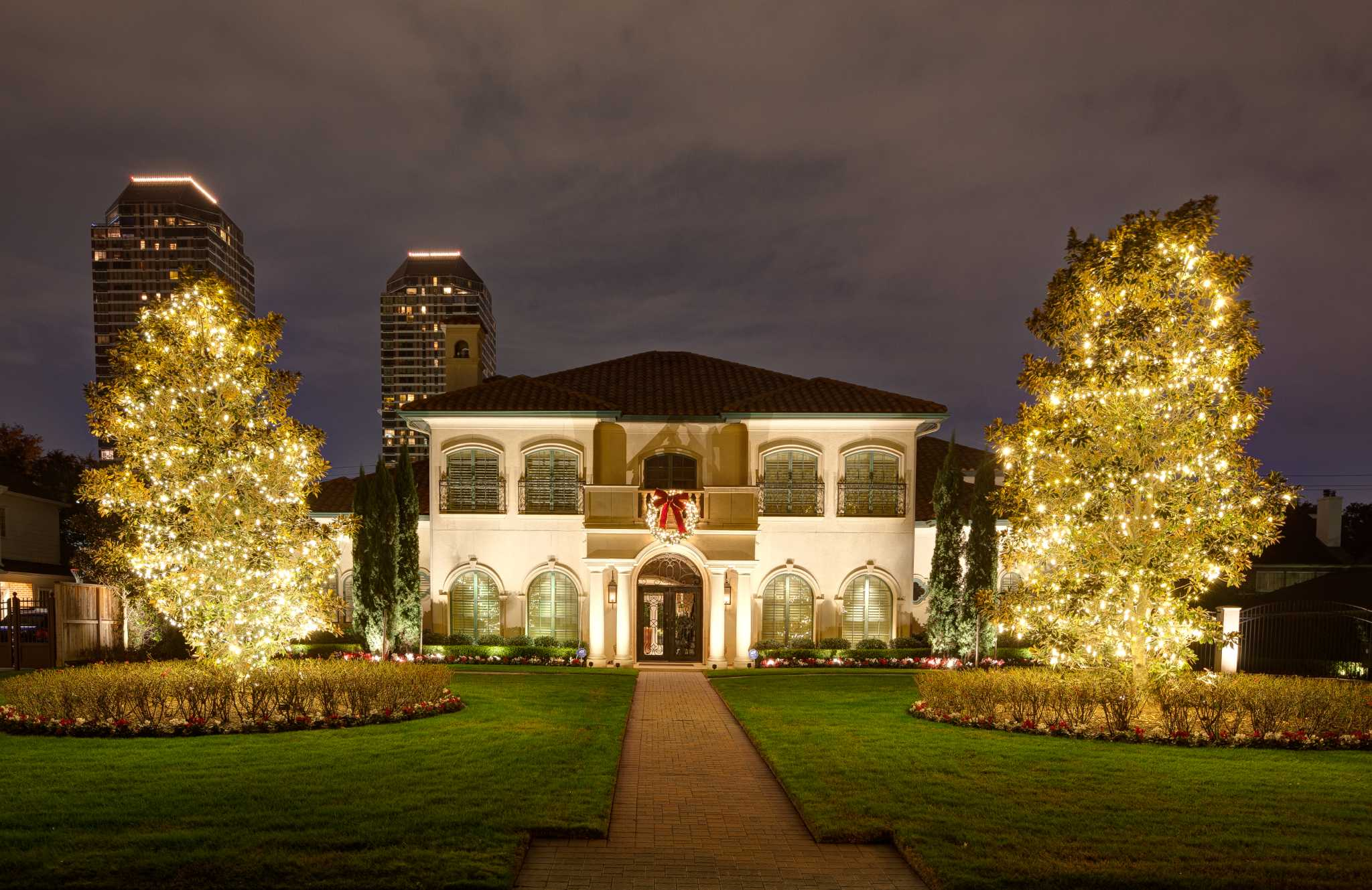 business already booming for houston holiday lights installers houston chronicle