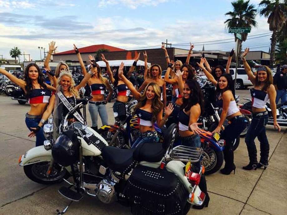 The Miss Lone Star Rally contest will be among the highlights of the 2015 Lone Star Rally motorcycle festival this week in Galveston. See photos of last year's rally ... Photo: Lone Star Rally