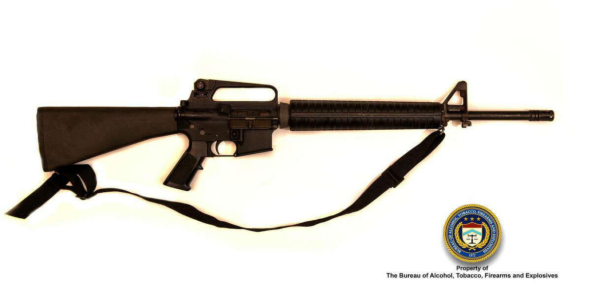 Federal prosecutors in Seattle claim a Canadian man in the country illegally was able to buy an AR-15-style rifle on store credit at Bass Pro Shops in Tacoma. A similar rifle is pictured above.