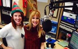 KOIT DJ Teri King (left, with NBC Bay Area's Christina Loren) will play only holiday music starting the day before Thanksgiving.