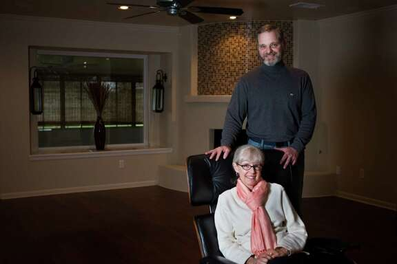 Pat Deeves and her husband, Sheldon Bloch, will be moving to their new home on Monday. Deeves and Bloch have been hunting for a home in the Meyerland area for the past two years.