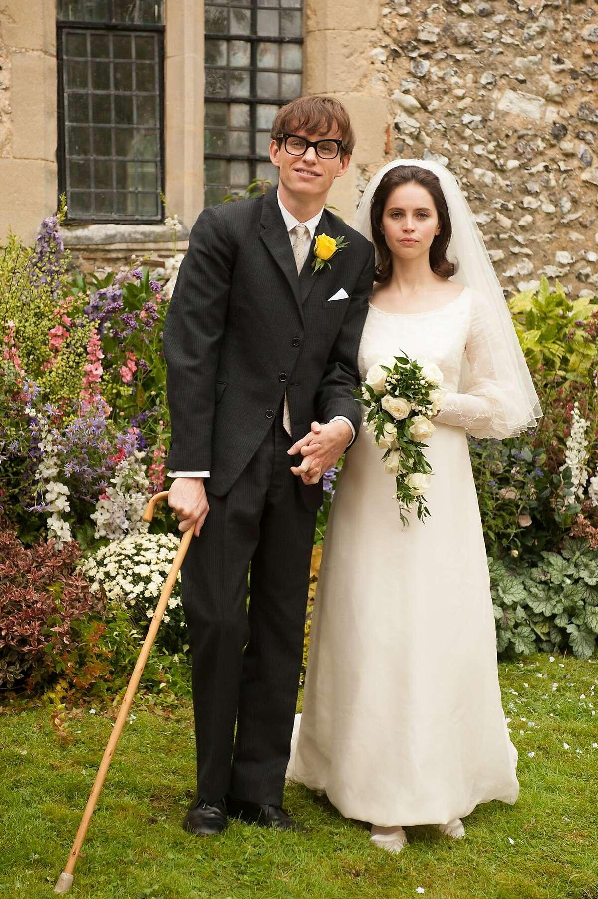 Eddie Redmayne stars as Stephen Hawking and Felicity Jones stars as Jane Wilde Academy Award winner James Marsh's