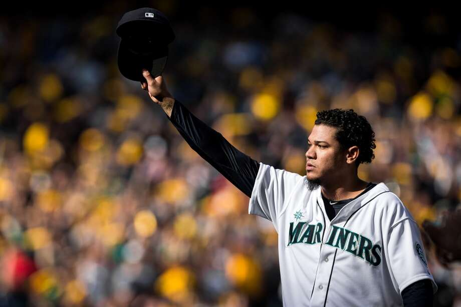 After years of dominance, Felix Hernandez no longer looks like the ace he once was.  Photo: JORDAN STEAD, SEATTLEPI.COM