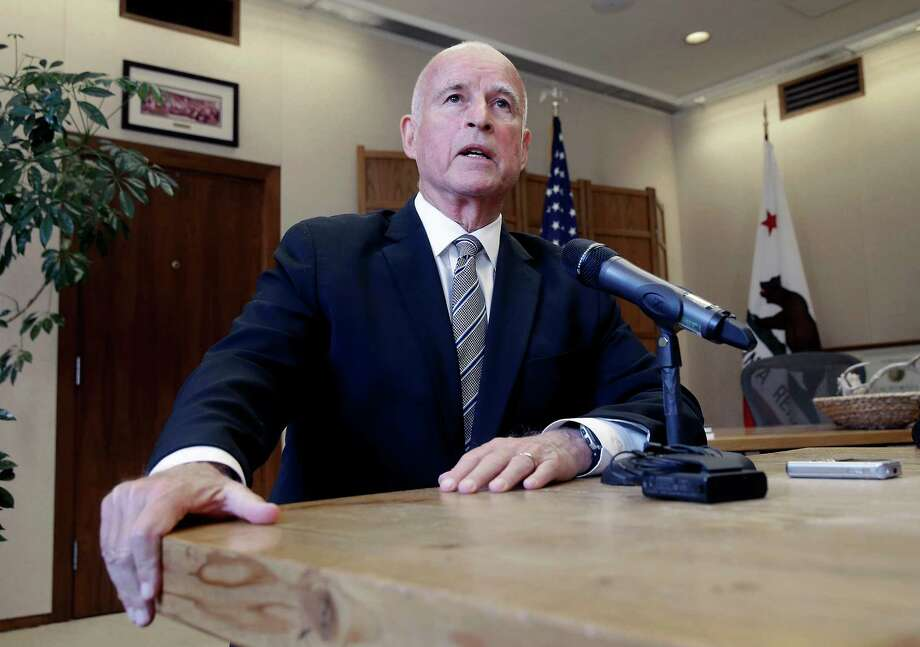 Gov. Jerry Brown has hit it lucky, with the stock market soaring more than 60 percent since he took office in 2011. Photo: Rich Pedroncelli / Associated Press / AP