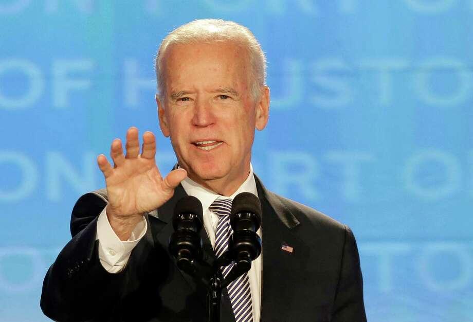"Vice President Joe Biden said ""the greatest economic power in the world needs the most dynamic port system in the world."" Photo: Pat Sullivan / Pat Sullivan / Associated Press / AP"