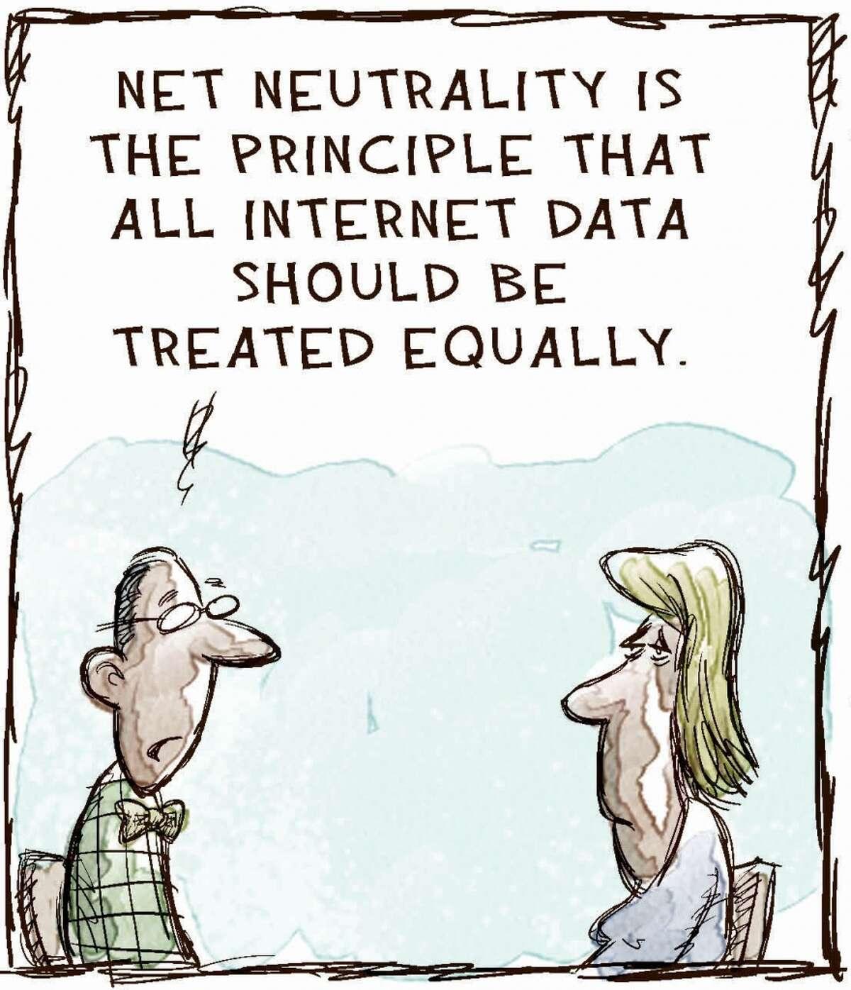 Cartoonist explains Net Neutrality Explaining Net Neutrality