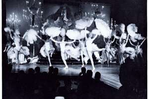 The Monorail and Space Needle were not the only big attractions during Seattle's 1962 World's Fair -- how about nudity and dancing women along  Century 21's Show Street ? The nightclub-style revues included  Girls of the Galaxy , featuring models posing in revealing space-age costumes, and  Gracie Hansen's Paradise International Club , which provided Las Vegas-style entertainment with showgirls. (MOHAI photo.)