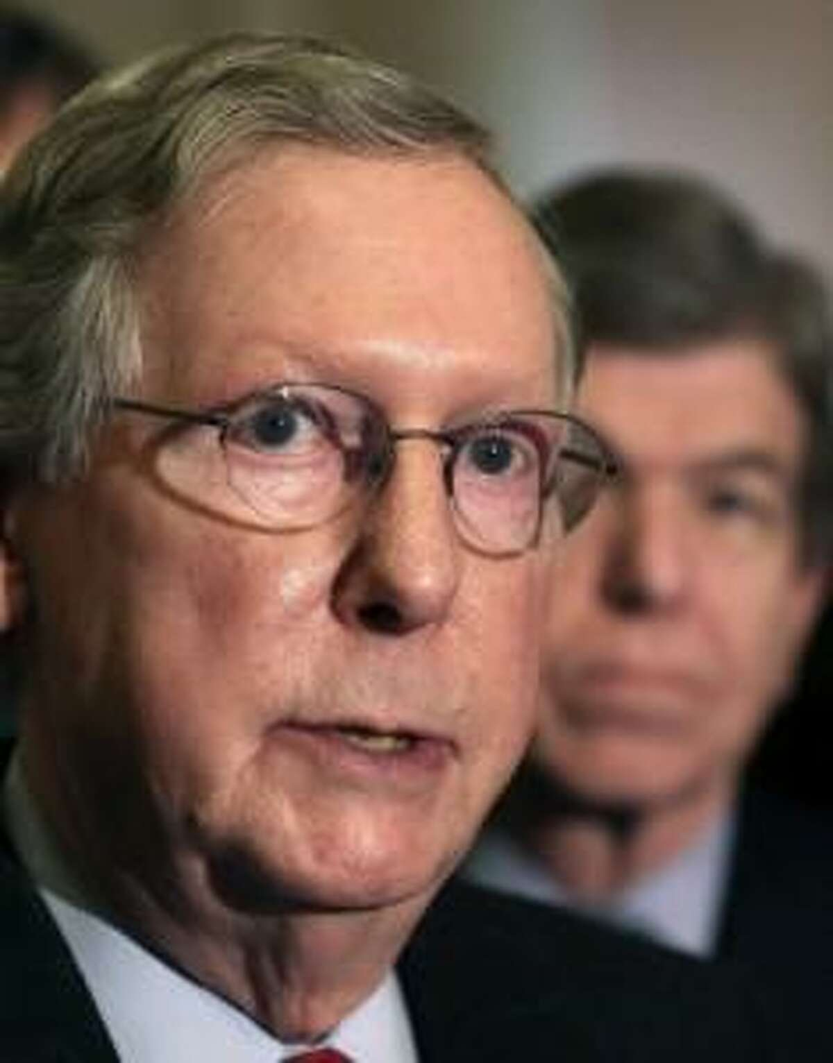 Senate Majority Leader Mitch McConnell is pushing for a vote this week on Senate Republican health care plan.