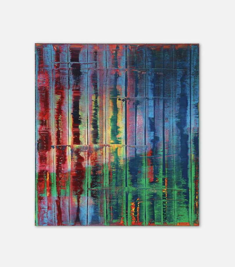 "The Linda Pace Foundation sold a painting from its collection by German abstract painter Gerhard Richter for $XX at a Christie's auction in New York Nov. 12. Proceeds from the sale of ""Abstraktes Bild (774-4)"" will be dedicated to a building fund for a long-envisioned exhibition space at the foundation's Camp Street campus. Photo: Courtesy Linda Pace Foundation"