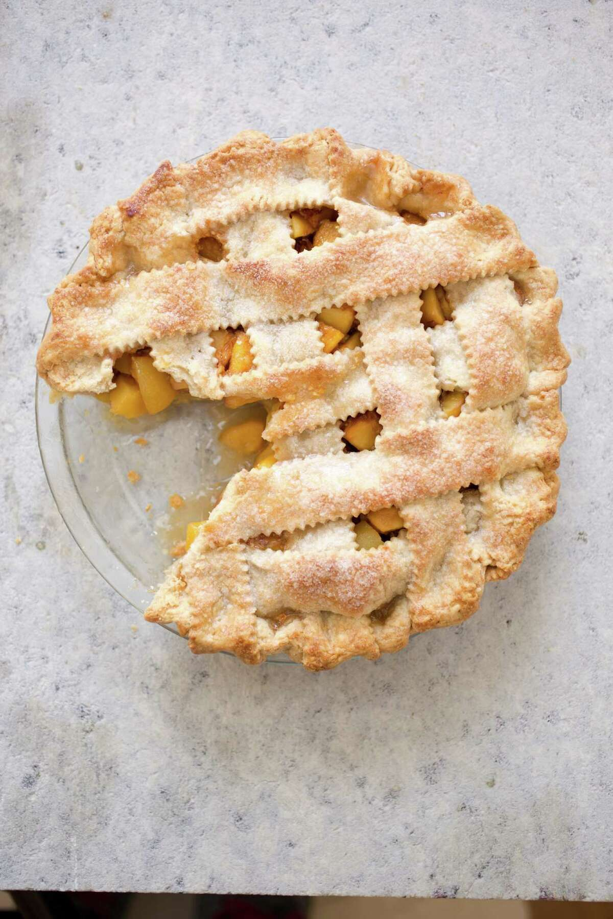 Fresh Peach Pie This great recipe comes from America's Test Kitchen. Read the recipe.