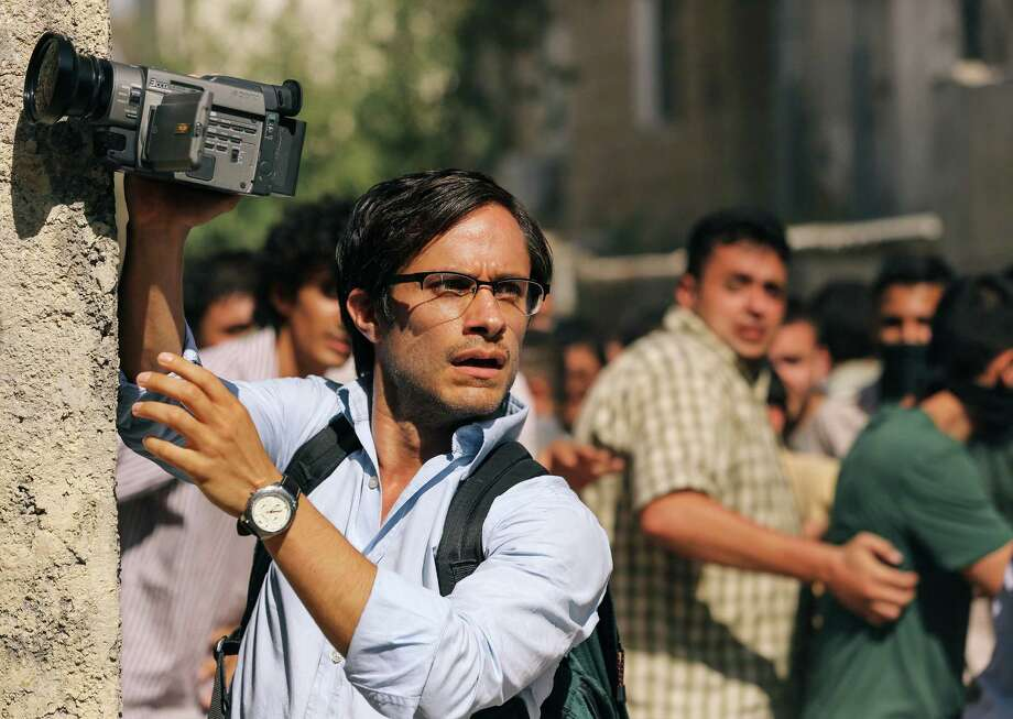 """This image released by Open Road Films shows Gael Garcia Bernal in a scene from the film, """"Rosewater."""" (AP Photo/Open Road Films, Laith Al-Majali) Photo: Laith Al-Majali, HONS / Associated Press / Open Road Films"""