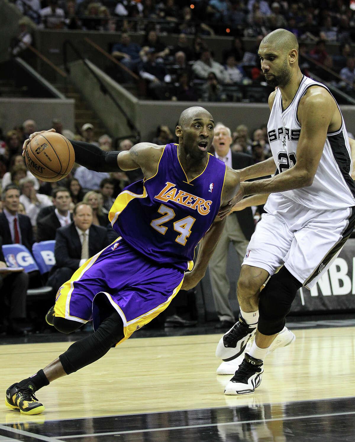 Kobe Bryant Draft: 1996, No. 13 Accolades: 5-time NBA champion, 2-time NBA Finals MVP, 2008 MVP, 17-time All-Star, 15-time All-NBA team, 12-time All-Defensive team