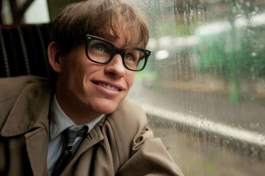"""The Theory of Everything"" IMDb: 8/10Review by Mick LaSalle: 'Theory' captures essence of HawkingFour-and-a-half starsJust in physical terms, Eddie Redmayne's transformation into Stephen Hawking is something remarkable. Most of us are familiar with the wheelchair-bound Hawking, slouching to one side and speaking with an electronic voice. Redmayne turns himself into that Hawking over the course of ""The Theory of Everything,"" but slowly, one gesture and deterioration at a time - until the resemblance becomes something between uncanny and downright freakish. Photo: Liam Daniel, HONS / Focus Features"
