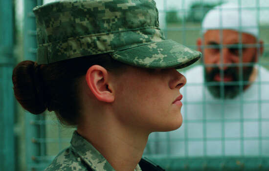 """Camp X-Ray""IMDb: 7.3/10Review by Roger Moore: Stewart holds her own in 'Camp X-Ray'Three-and-a-half starsMuch respect for Kristen Stewart, the ""Twilight"" star who could have contented herself with ""Snow White"" films or globe-trotting, nibbling on bonbons and dating the rich and the beautiful for the rest of her life.