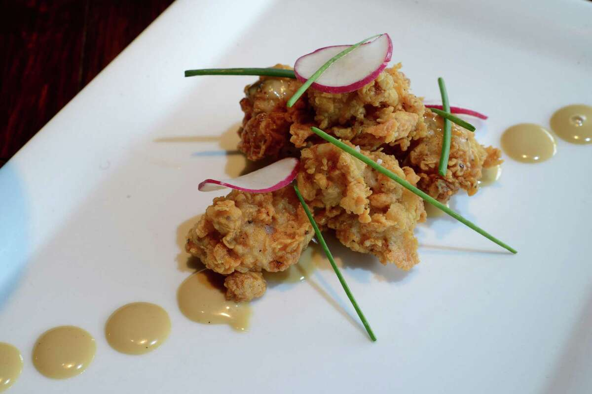 The fried sweetbreads at Folc are available during brunch.