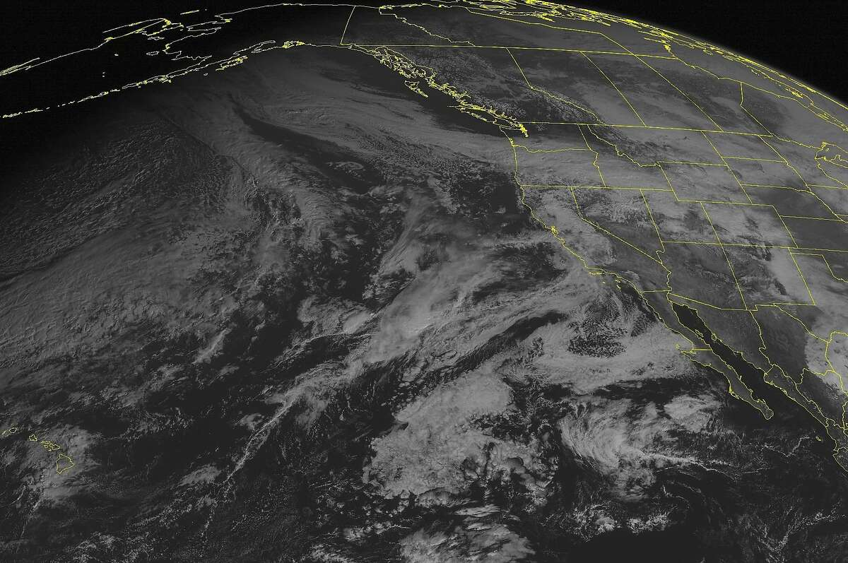 This NOAA satellite image taken Thursday, Nov.13, 2014 at 10:00 AM EST shows areas of heavy snowfall across the Great Basin region into the Intermountain West and Rocky Mountain range as a stationary boundary is causing unstable atmospheric conditions. Along with this boundary, a tightly knit temperature gradient is extending from western Oregon into the Rocky Mountains. California is also experiencing widespread areas of precipitation due to a complex low pressure system with an occluded front off the western coastline of the state. Upper level high pressure systems are causing the skies to clear up in most parts of the Northern and Central Plains. (AP Photo/Weather Underground)
