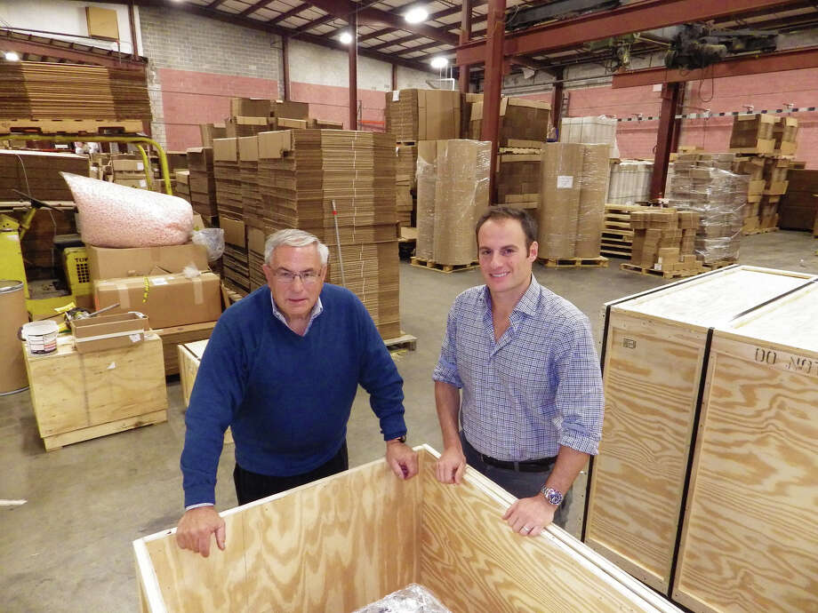 Mickey, left, and Jeff Alexander of Commerce Packaging Corp. in Norwalk. Photo by Bill Fallon Photo: Bill Fallon/Contributed Photo, Contributed Photo / Fairfield County Business Journal Connecticut Post Contributed