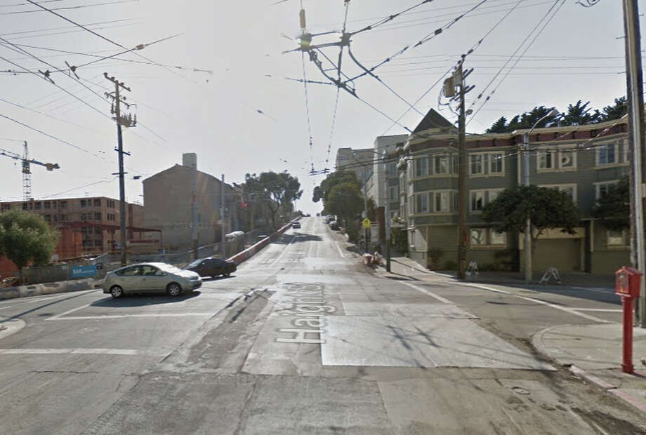 A man was stabbed on the  200 block of Haight Street shortly after 4 a.m. Thursday morning. Photo: Google Maps