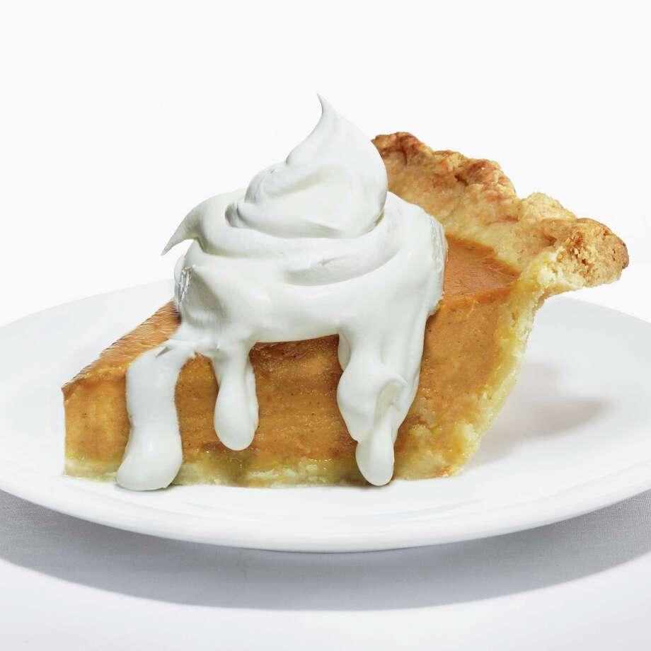 Slice of Pumpkin Pie and Whipped Cream Photo: Maren Caruso, Getty Images / (c) Maren Caruso