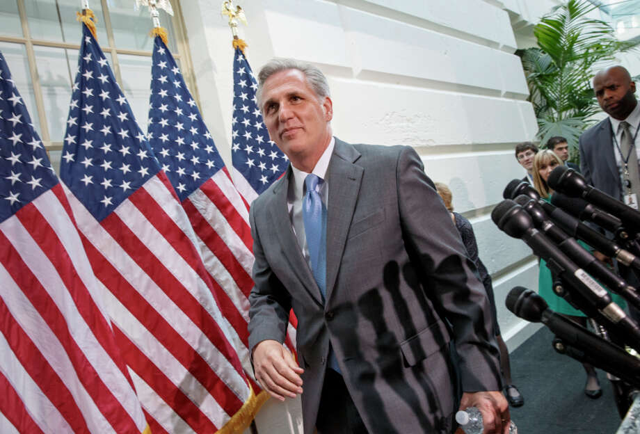 House Majority Leader Kevin McCarthy says lawmakers want to pass the legislation this term. Photo: J. Scott Applewhite / Associated Press / AP