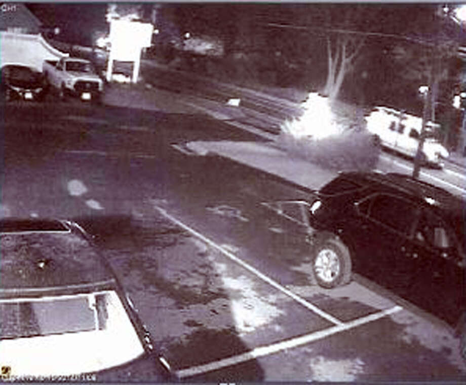 Police have released a photo of a white van wanted in connection with the fatal hit-and-run accident last weekend that killed a young Bethel, Conn. mother. Photo: Contributed Photo / The News-Times Contributed