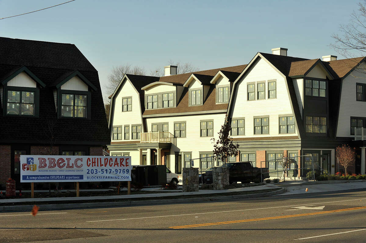 The apartment complex and daycare facility along High Ridge Road developed by jewler Nagi Osta in Stamford, Conn., on Monday, Nov. 10, 2014. Some area community members are concerned about transient residents and increased vehicular traffic through their neighborhood that would be brought about because of the rental housing and daycare project developed by High Ridge Road jeweler Nagi Osta.
