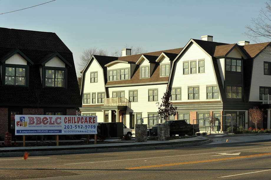The apartment complex and daycare facility along High Ridge Road developed by jewler Nagi Osta in Stamford, Conn., on Monday, Nov. 10, 2014. Some area community members are concerned about transient residents and increased vehicular traffic through their neighborhood that would be brought about because of the rental housing and daycare project developed by High Ridge Road jeweler Nagi Osta. Photo: Jason Rearick / Stamford Advocate