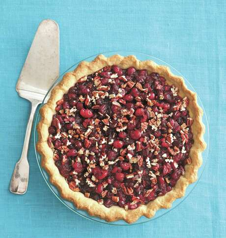 "Cranberry Pecan Pie from ""Pastry: Foolproof Recipes for the Home Cook"" by Nick Malgieri Photo: Romulo Yanes / Courtesy / / ©Romulo Yanes"