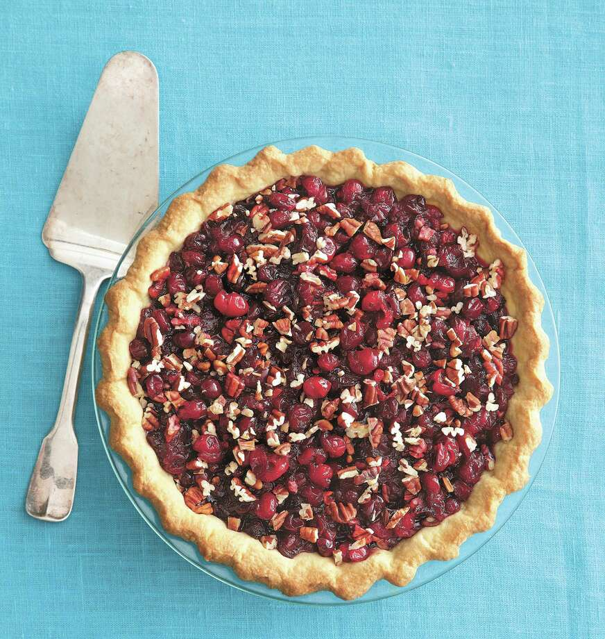 """Cranberry Pecan Pie from """"Pastry: Foolproof Recipes for the Home Cook"""" by Nick Malgieri Photo: Romulo Yanes / Courtesy / / ©Romulo Yanes"""