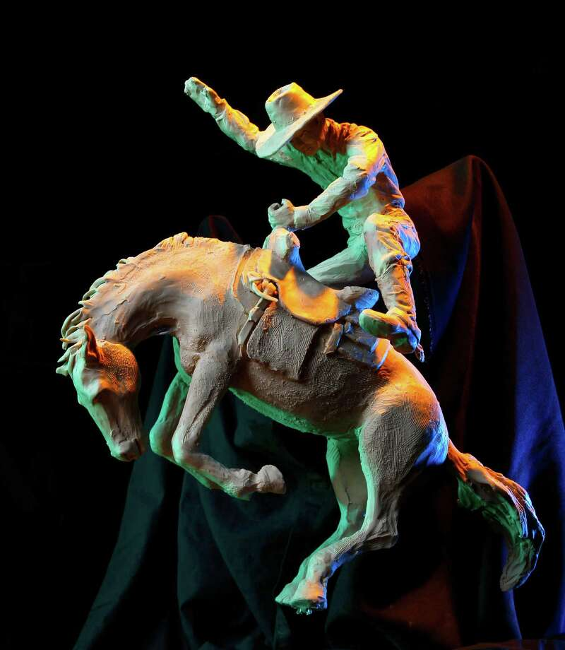 The vaquero, the new mascot for the University of Texas Rio Grande Valley, is also an American icon. Photo: Nathan Lambrecht / Nathan Lambrecht / Associated Press / The Monitor