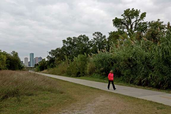 A plot of land near a Houston Heights hike and bike trail, close to150 Frasier Street, will be developed after 10 years of off and on again planning Wednesday, Nov. 12, 2014, in Houston, Texas. ( Gary Coronado / Houston Chronicle )