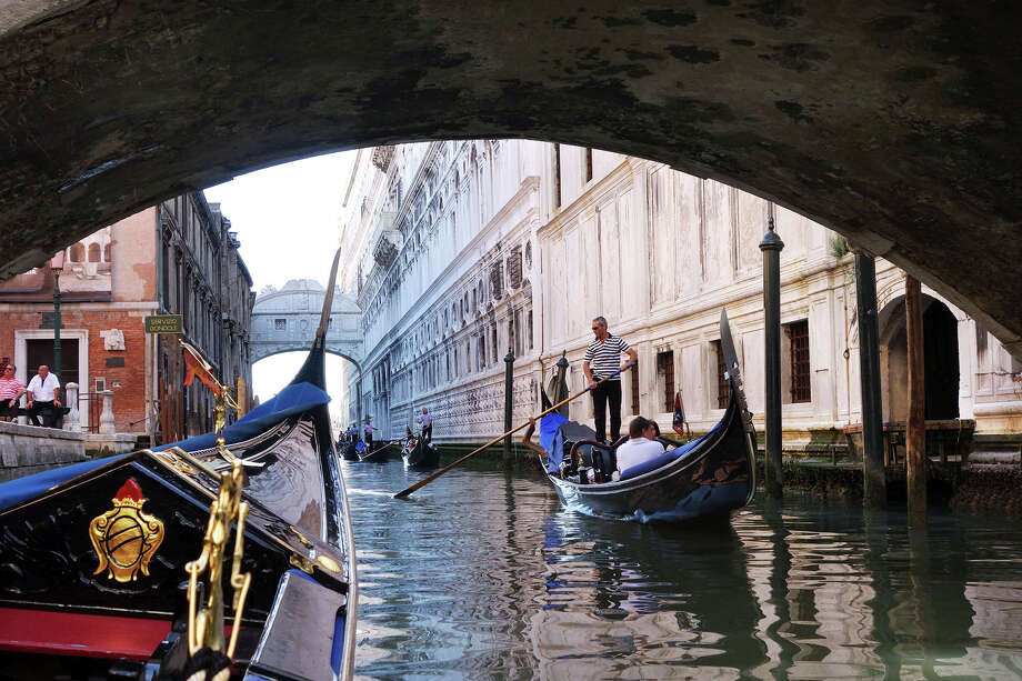 Splurging on a gondola ride in Venice — about $160 for 50 minutes — will buy you a memory for a lifetime. Photo: Rick Steves / Photos By Rick Steves / ONLINE_YES
