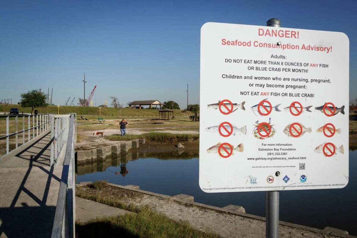 Harris County officials claimed pollution prevented Channelview-area residents from using the San Jacinto River for recreation and commercial fishing.