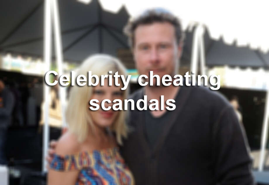 Scroll through to see which major celebrities have been caught cheating. Photo: File