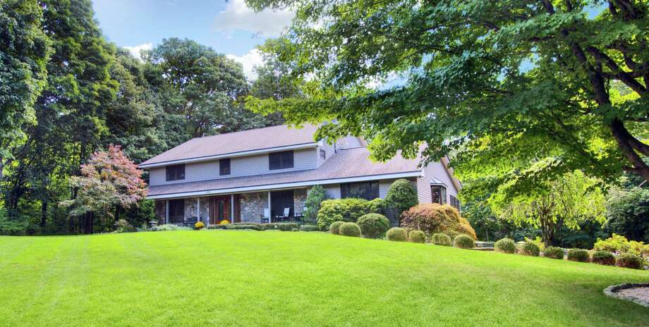 The property at 1776 Boston Post Road is on the market for $2,095,000. Photo: Contributed Photo / Darien News