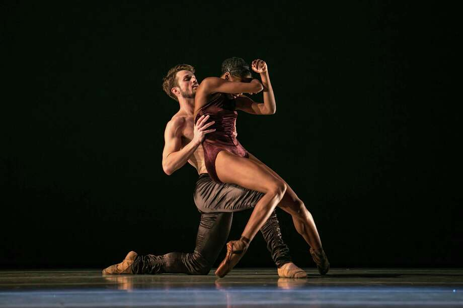 "Robb Beresford and Courtney Henry perform in the world premiere of Lines Ballet's ""Shostakovich."" Photo: Quinn B. Wharton / Quinn B. Wharton / ONLINE_YES"