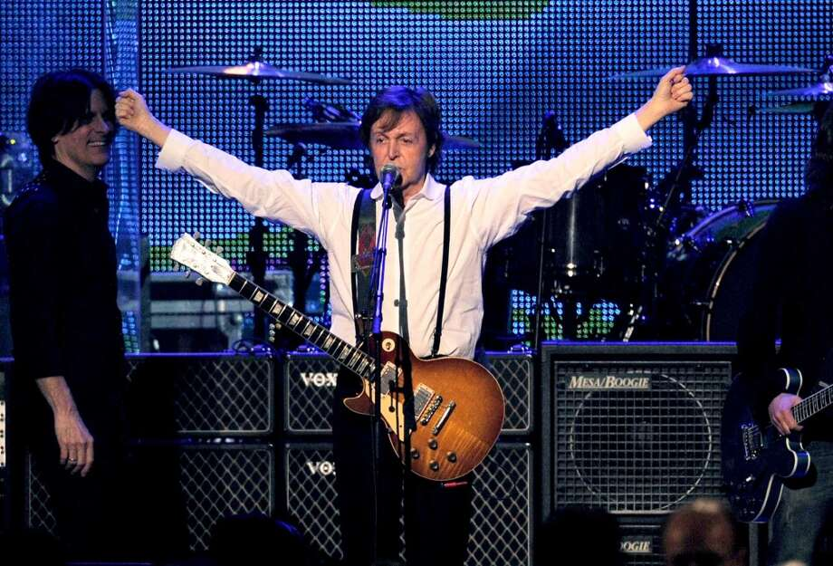 Paul McCartney isn't coming to Houston this year, but his tour isn't going to be that far away, if you're willing to travel. Photo: Chris Pizzello, Associated Press