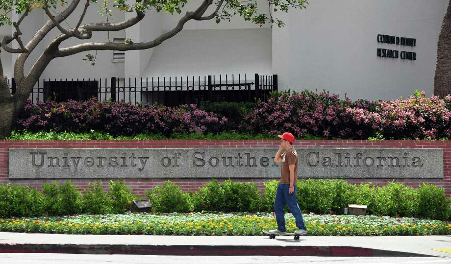 File photo of the University of Southern California (USC) campus. AFP PHOTO/Frederic J. BROWN Photo: FREDERIC J. BROWN, Getty / 2012 AFP