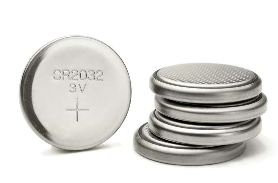 When small children ingest a button battery — commonly found in watches, cameras, small remote controls, garage-door openers and cell phones — it can lodge in the esophagus. Lithium batteries can damage tissue and even be fatal. More than 3,500 cases of button battery ingestion are reported to U.S. poison control centers every year. Keep them out of reach of children and seek medical attention if a child has swallowed one. Photo: Thomas Acop / Getty Images / (c) Thomas Acop