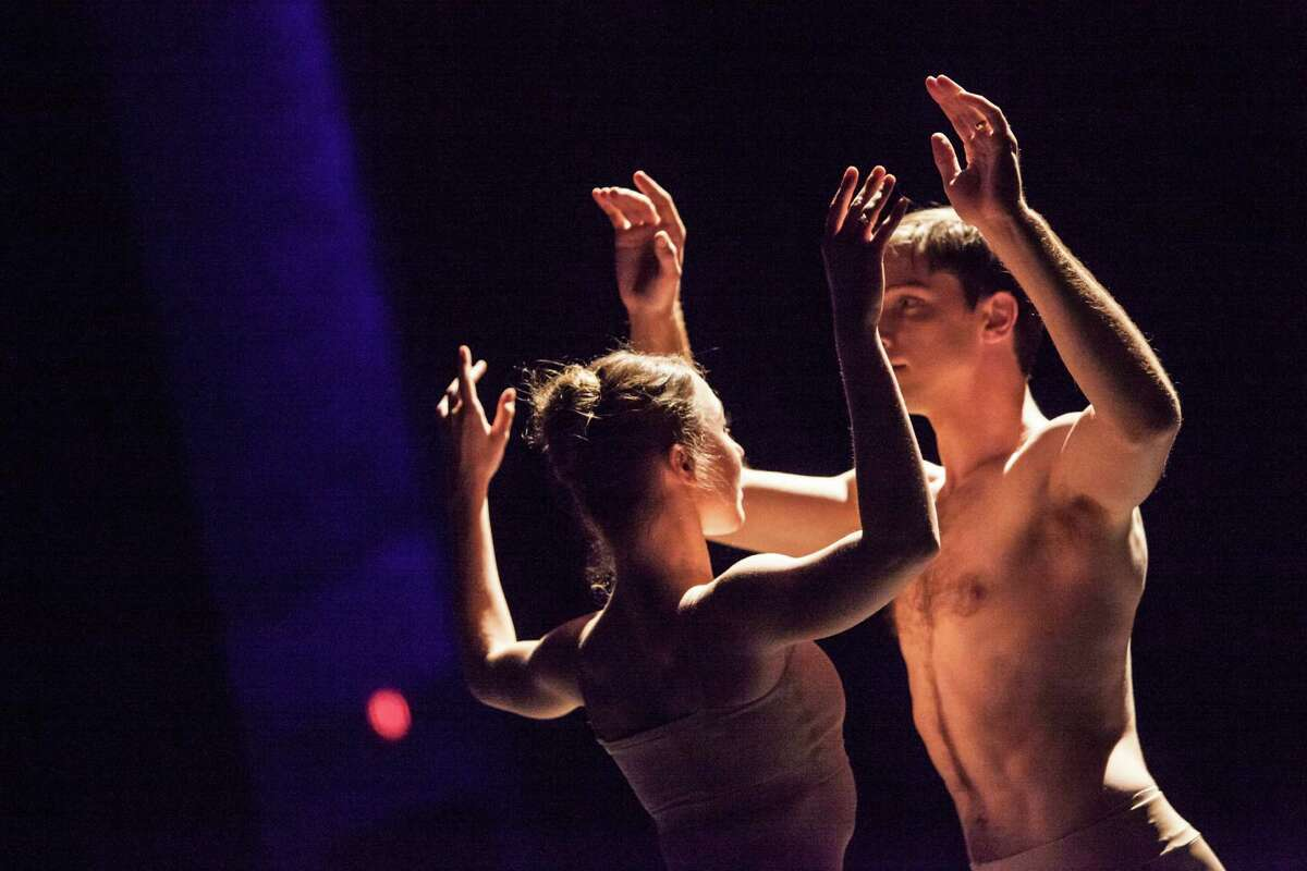 """Jessica Collado and Ian Casady perform in the Houston Ballet documentary dance film """"Sons de L'âme (Sounds of the Soul)."""""""