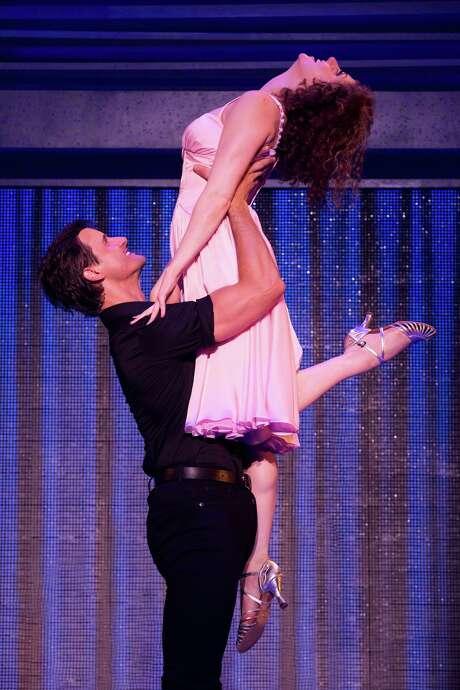 """""""Dirty Dancing,"""" starring Samuel Pergande and Jillian Mueller, runs Tuesday- Nov. 23 at the Hobby Center. Photo: Matthew Murphy"""