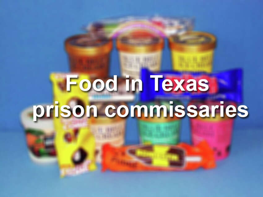 Food in Texas prison commissaries.