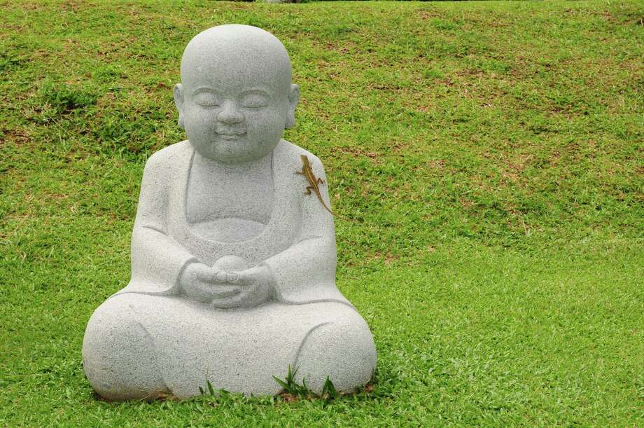 smiling buddha / axway - Fotolia
