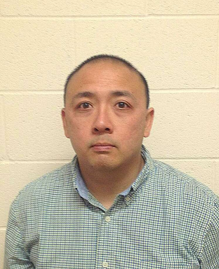 Gary Fong, 36, of San Francisco, was arrested Friday for allegedly bothering young girls near San Mateo High School. Photo: Courtesy / San Mateo Police Deparment / ONLINE_YES