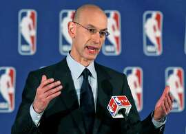 NBA Commissioner Adam Silver has been deft in his short tenure, but he could face a labor stoppage in 2017.