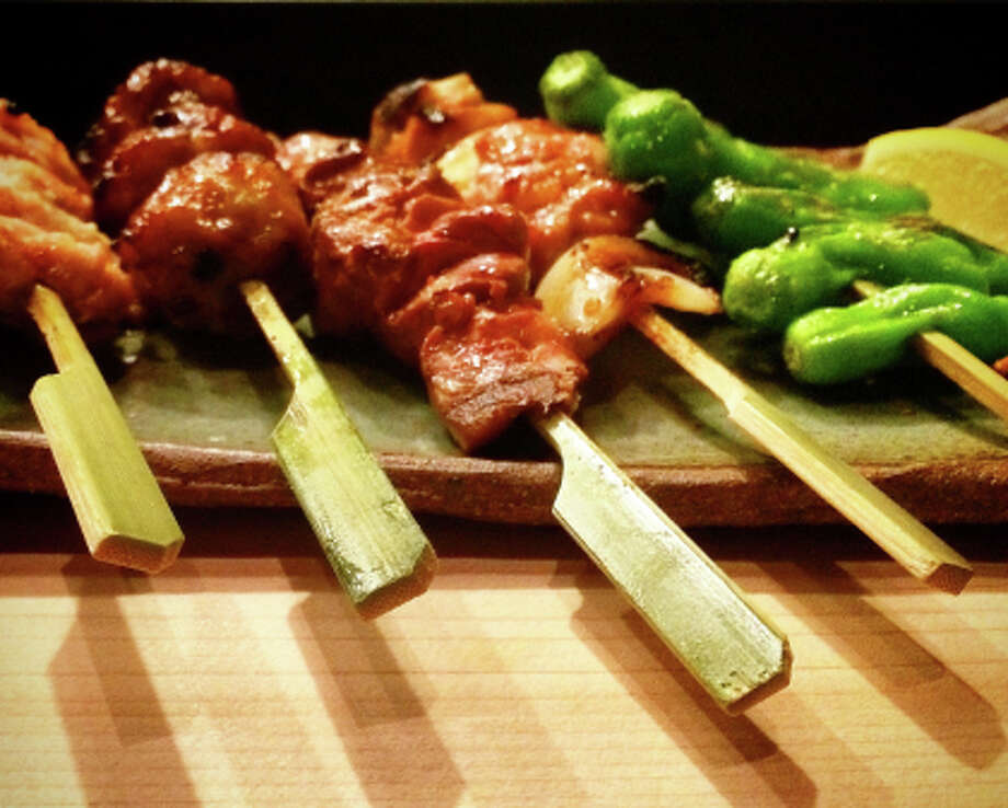 Yakitori offerings are at the heart of the menu at Rintaro.