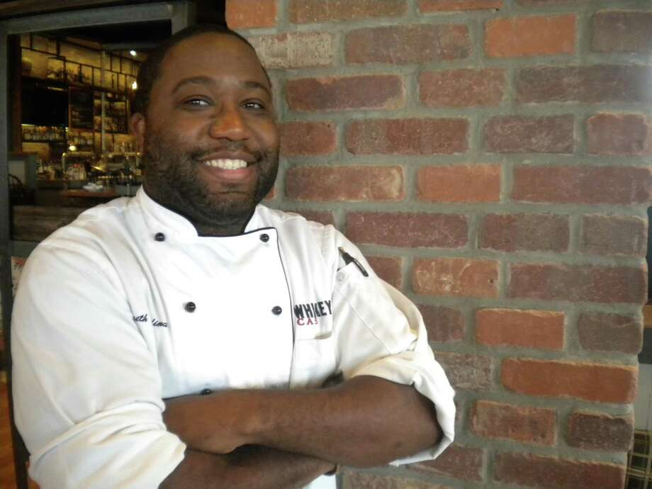 Kenneth Hardiman is the executive chef at Whiskey Cake Kitchen & Bar in San Antonio. Photo: Valentino Lucio / San Antonio Express-News